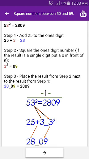 Math Tricks 2.17 screenshots 6
