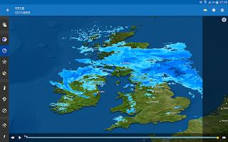 Screenshot of WeatherPro