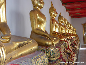 Photo: Wat Po - each one is different.