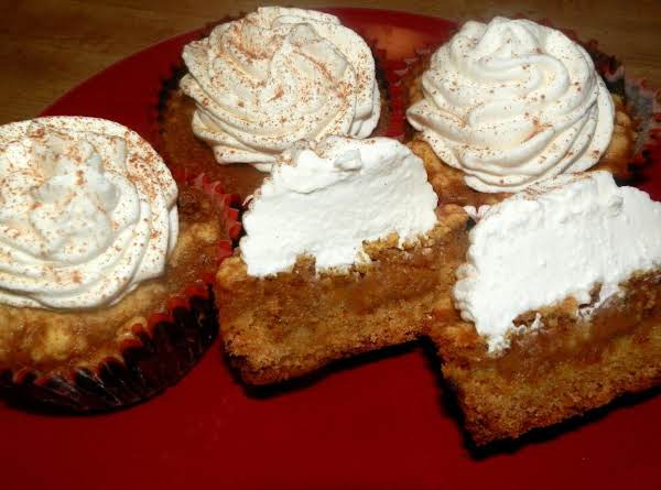 Dee-lightful Pumpkin Pie Cupcakes Recipe