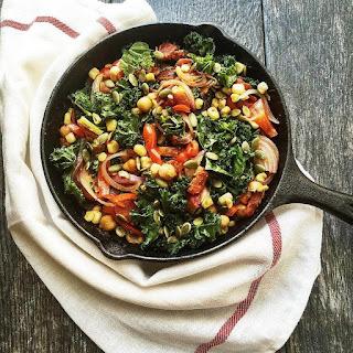Hearty Vegetarian Skillet