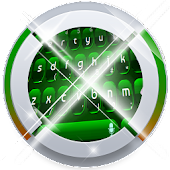 Digital Green Keypad Art