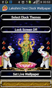 Download Lakshmi Diwali Theme Clock Lockscreen - LWP APK latest