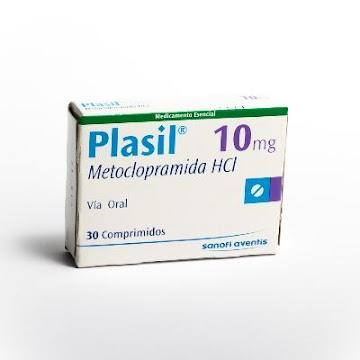 Metoclopramida Plasil 10mg Comprimidos Caja X30Com. Sanofi