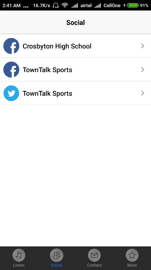 Crosbyton Sports Radio- screenshot