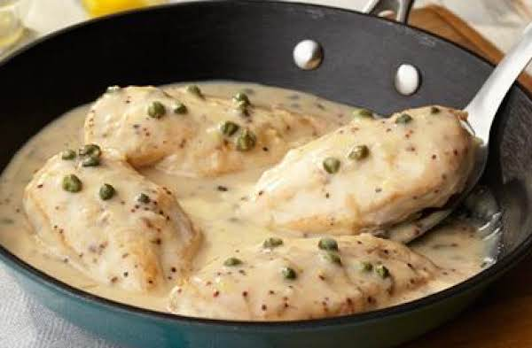 Creamy Lemon Dijon Chicken Recipe