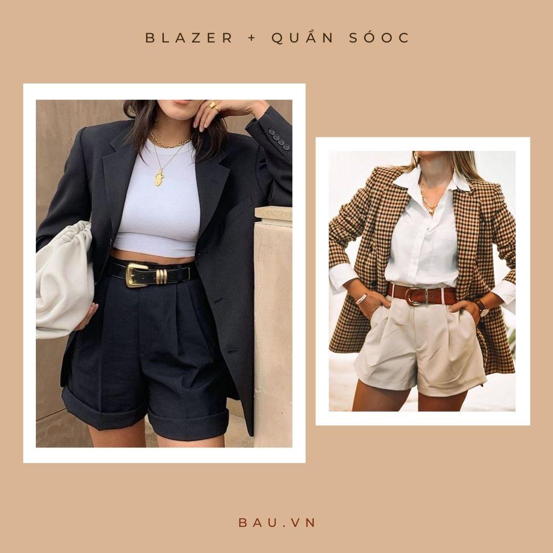 6 outfit kết hợp với blazer cho các nàng trở nên sang - xịn - mịn - ảnh 2
