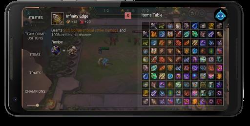 Builds for TFT Teamfight Tactics screenshots 1