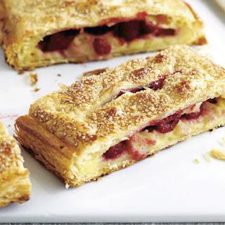 Raspberry Cream Strudel