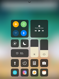 Control Center IOS 11 Screenshot