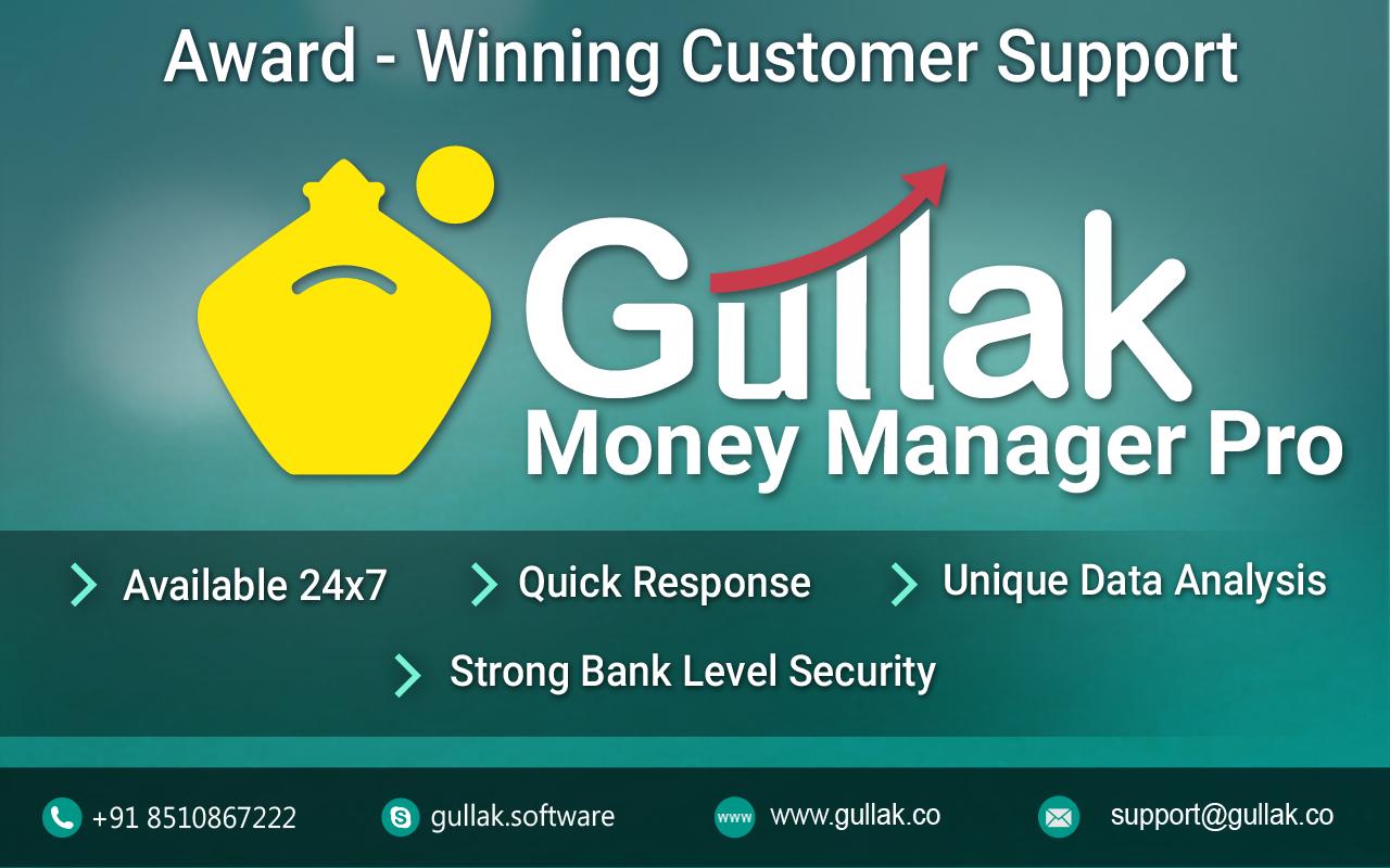 Gullak - Expense Manager Pro - screenshot