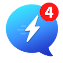 Messenger for Messages,Video Chat,Call ID for Free icon