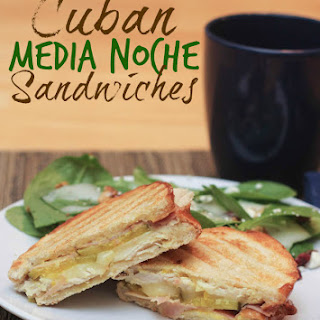 Classic Cuban Media Noche Sandwiches