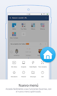 UC Browser Mini - Navegador: miniatura de captura de pantalla