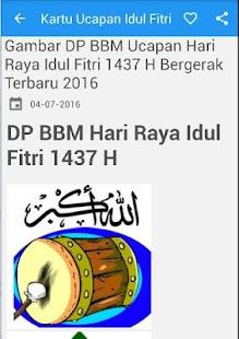Kartu Ucapan Idul Fitri DP BB - náhled