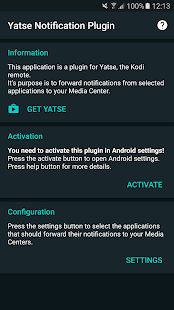 Yatse Notification Plugin Screenshot
