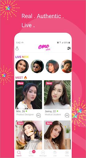 EME Hive - #1 Asian Dating App 2.1.4 Screenshots 3