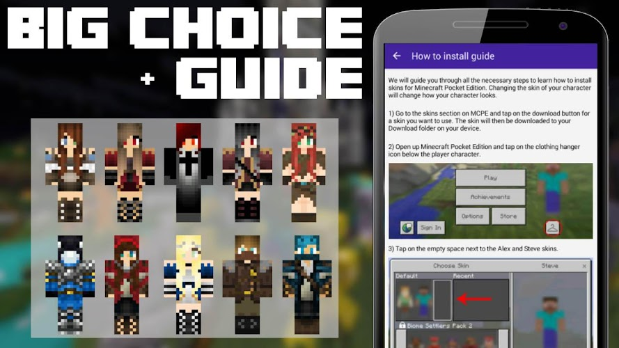 PvP Skins For Minecraft On Google Play Reviews Stats - Skins para minecraft pe pvp