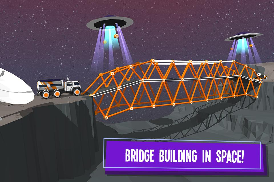 Build a Bridge!- screenshot