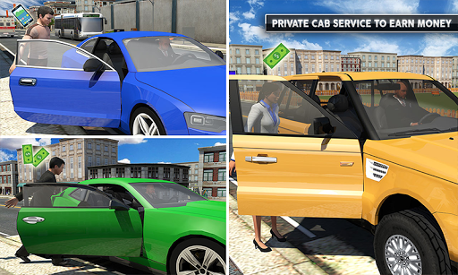 Rush Hour Taxi Cab Driver: NY City Cab Taxi Game 1.4 screenshots 4