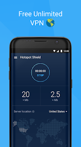 Hotspot Shield Free VPN Proxy & Wi-Fi Security 3