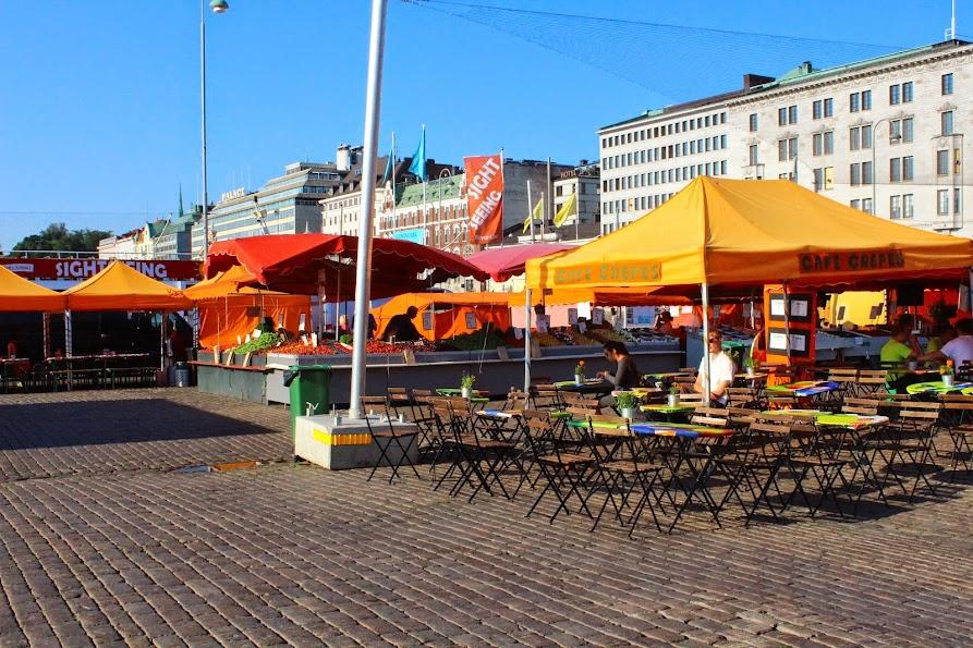 kauppatori market helsinki finland