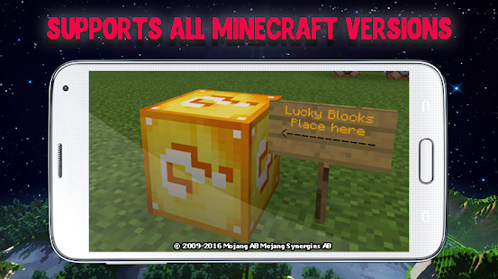 Lucky Blocks Mod For Minecraft Apps Bei Google Play - Minecraft lucky block jetzt spielen