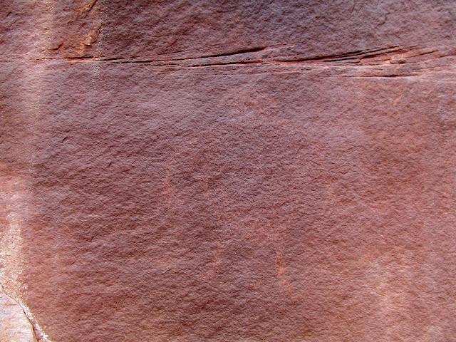 Faint Anasazi-style glyph