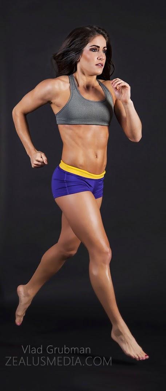 Professional fitness model - portfolio update by Vlad Grubman / Zealusmedia.com
