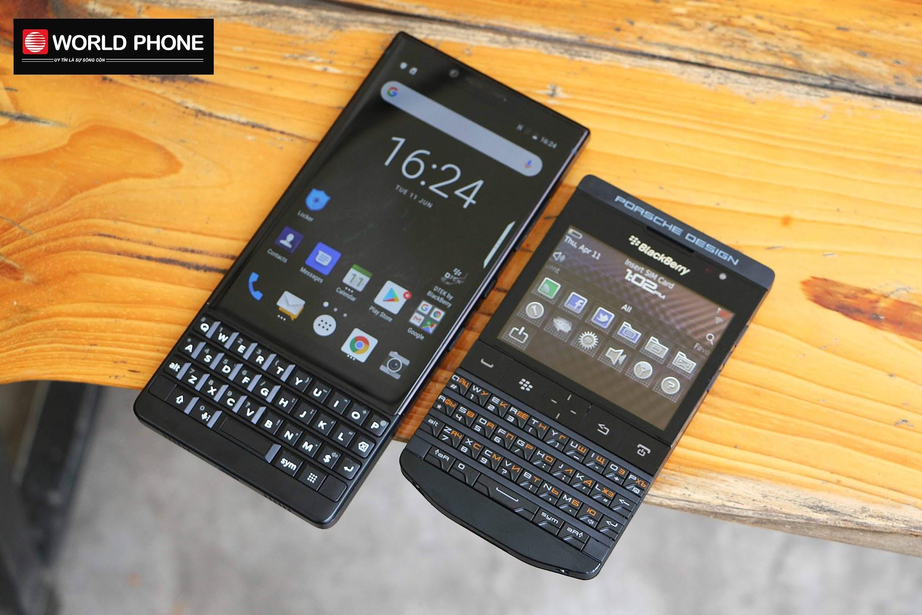 BlackBerry P'9981 và BlackBerry Key2 – Đâu mới là sự lựa chọn hoàn hảo