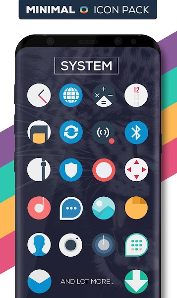 Minimal O – Icon Pack v1.7 [Patched]