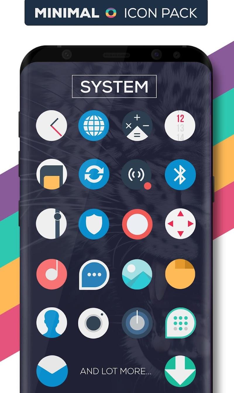 Minimal O - Icon Pack Screenshot 1