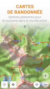 Cartes et Navigation — OsmAnd Capture d'écran