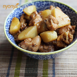 Ayam Pongteh (Nyonya Chicken and Potato Stew)