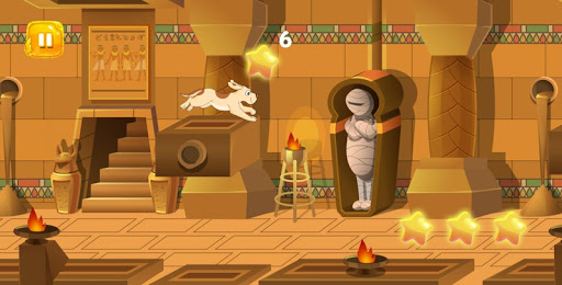 Code Triche Dog Rush : Funny Dog running in ancient Egypt APK MOD screenshots 4