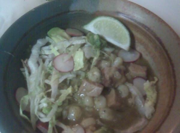 Gringo Green Posole For 2 (gluten-free) Recipe