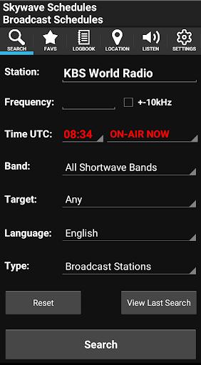 Skywave Schedules 1.1.49 screenshots 1