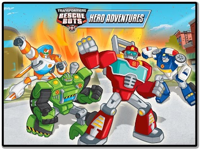 Transformers Rescue Bots: Hero- screenshot thumbnail