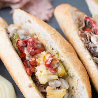 Italian Cheesesteak Sandwich Recipe