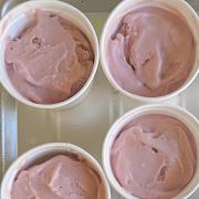 Homemade Strawberry Icecream, 8oz cup