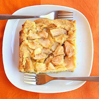 Sugarless Flourless Apple Marzipan Tart.