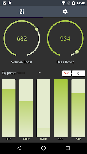 Boosted. Equalizer Pro  screenshots 1