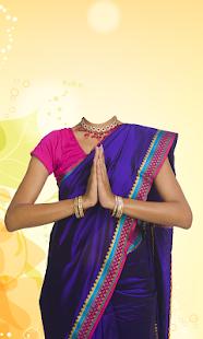 Download Women Saree Photo Suit For PC Windows and Mac apk screenshot 4