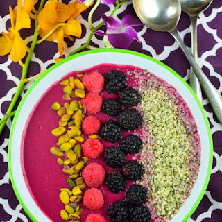 """Beet"" The Heat Smoothie Bowl"