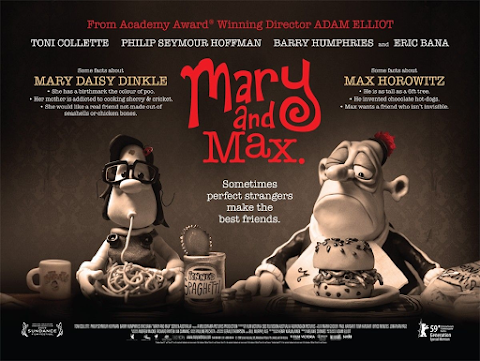 Jonesy's Movie of the Month- Mary and Max