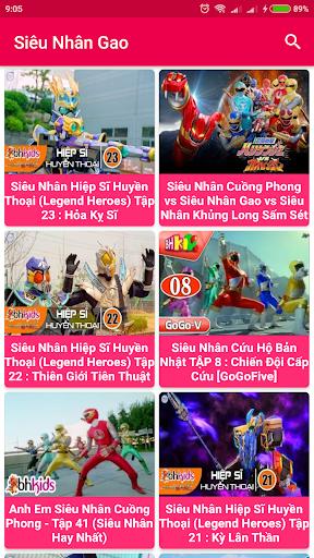 Siêu nhân Gao - 5 anh em siêu nhân screenshot 4