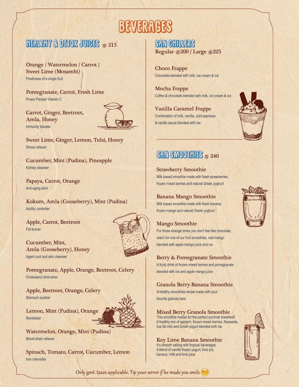 Chocolateria San Churro menu 10