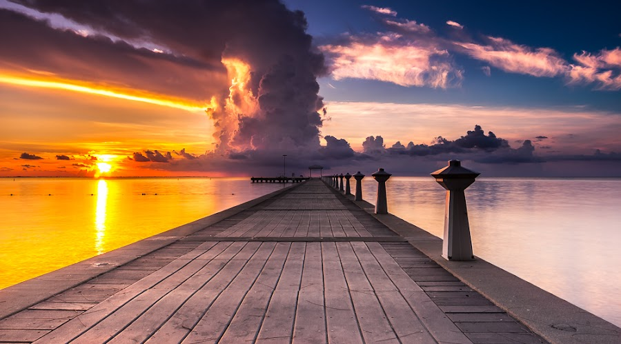 Rum Point, Cayman Islands by Guntomi Wibowo - Landscapes Sunsets & Sunrises