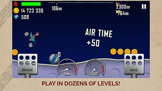 Hill Climb Racing APK MOD (Diamonds / Infinite Money)  v1.46.6 4