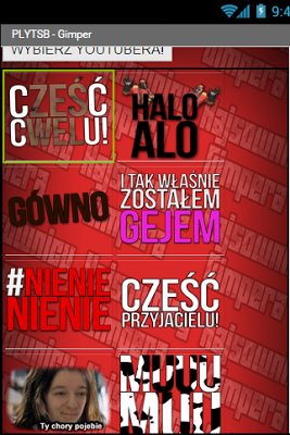 Polish YouTube Soundboard! - screenshot
